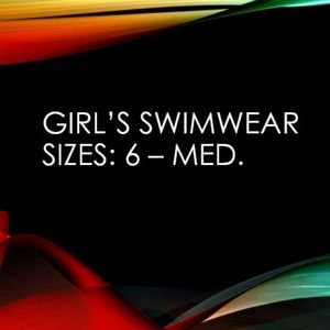 Other - Girl's Youth Swimwear